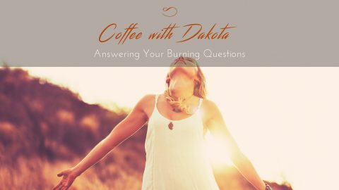 [048]Coffee with Dakota: How Can I Clear My Soul of Grief?