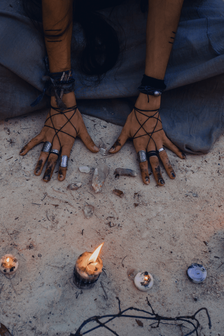 spiritual protection, medicine wheel, energy cleansing, ritual, spell, witch